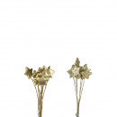 wholesale Decoration: Styro Star Glory on the wire, diameter 2.5 cm, g